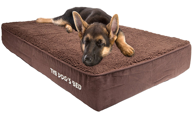 german shepherd dog bed