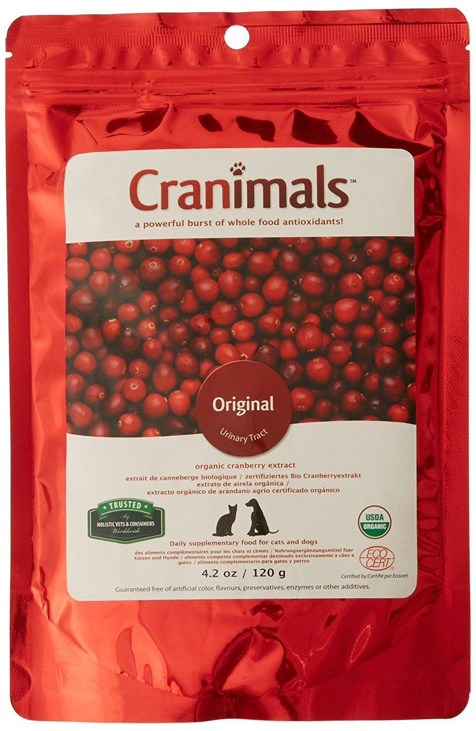 cranberry supplements for dogs