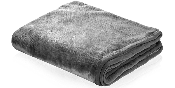 dog blanket grey