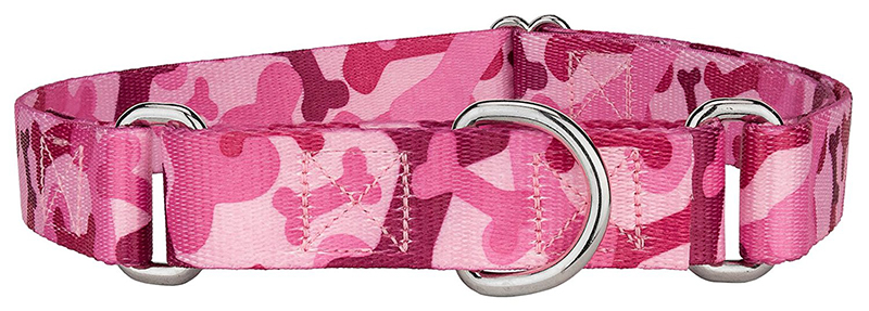 personalized camo dog collar