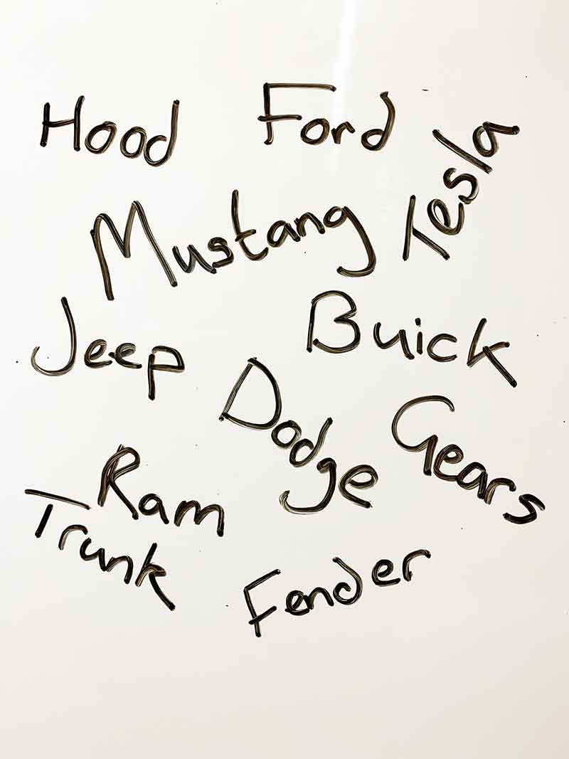 male dog names from vehicles